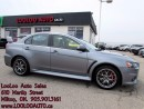 Used 2014 Mitsubishi Lancer Evolution Evolution GSR AWD Bluetooth Manual Certified for sale in Milton, ON