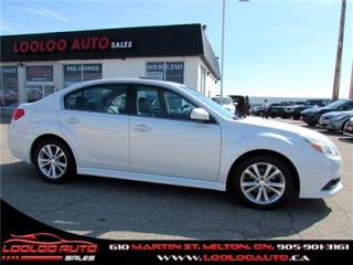 Used 2013 Subaru Legacy 3.6R Limited AWD Navigation Camera Certified for sale in Milton, ON