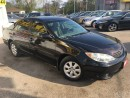 Used 2005 Toyota Camry LE/AUTO/LOADED/ALLOYS/CLEAN CAR PROOF for sale in Scarborough, ON