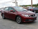 Used 2014 Honda Civic EX-AUTO-CAMERA-SUNROOF-ONLY 20KM for sale in York, ON