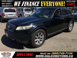 Used 2007 Infiniti FX35 3.5L   YOU SAFETY, YOU SAVE for sale in Hamilton, ON