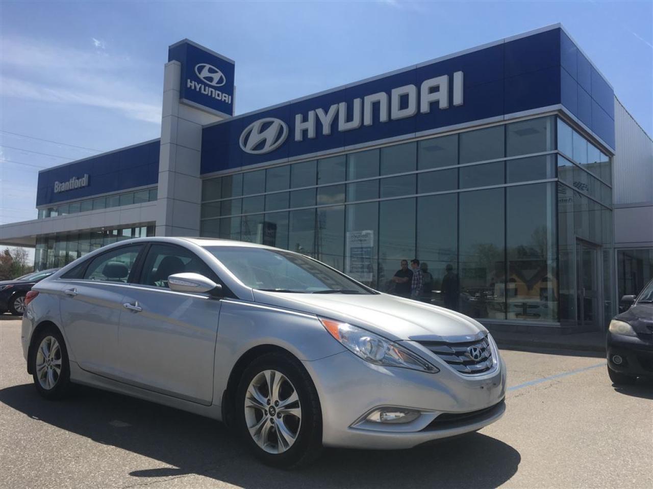 Photo of Gray 2013 Hyundai Sonata