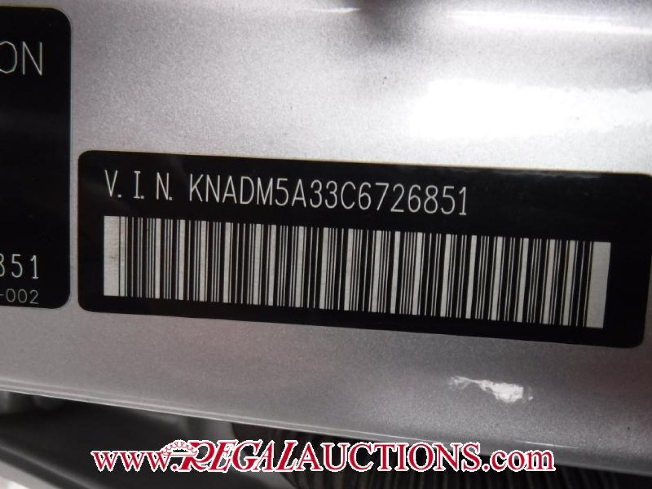 2012 Kia RIO LX 4D HATCHBACK 6SP
