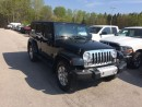 Used 2014 Jeep Wrangler Unlimited for sale in Owen Sound, ON