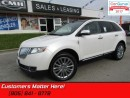 Used 2013 Lincoln MKX AWD, NAVI, REAR CAM, SUNROOF, HEATED LEATHER SEATS for sale in St Catharines, ON