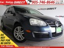 Used 2007 Volkswagen Jetta 2.5| LOCAL TRADE| LEATHER| SUNROOF| for sale in Burlington, ON