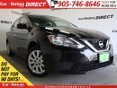 Used 2016 Nissan Sentra 1.8 SV| WE WANT YOUR TRADE| OPEN SUNDAYS| for sale in Burlington, ON