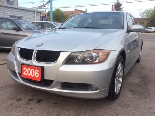 Used 2006 BMW 3 Series 3.0L/325i Leather/Sunroof/Alloys/MINT CONDITION for sale in Scarborough, ON