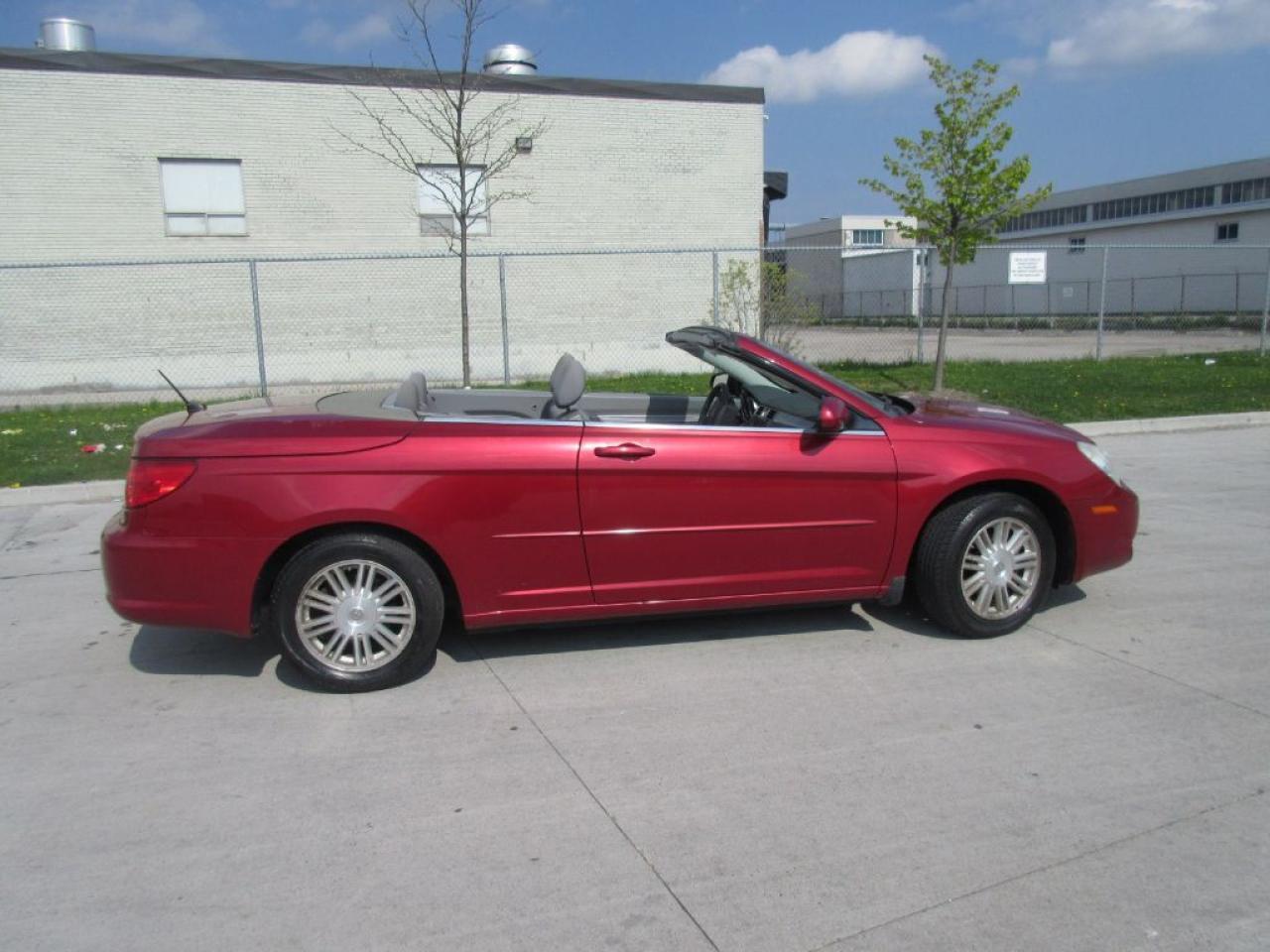 Photo of Red 2008 Chrysler Sebring convertible, 2 Door, certified, 3 years warranty a