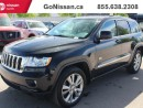 Used 2011 Jeep Grand Cherokee Leather, Navigation, Sunroof for sale in Edmonton, AB