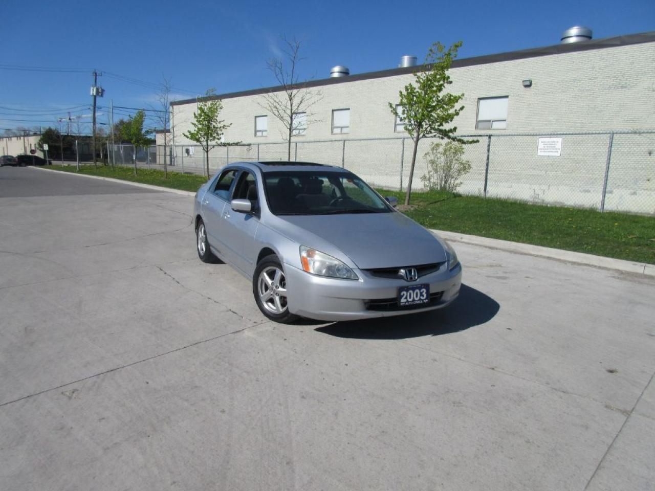 Photo of Silver 2003 Honda Accord 4 door, Sunroof, automatic, 3/Y warranty available