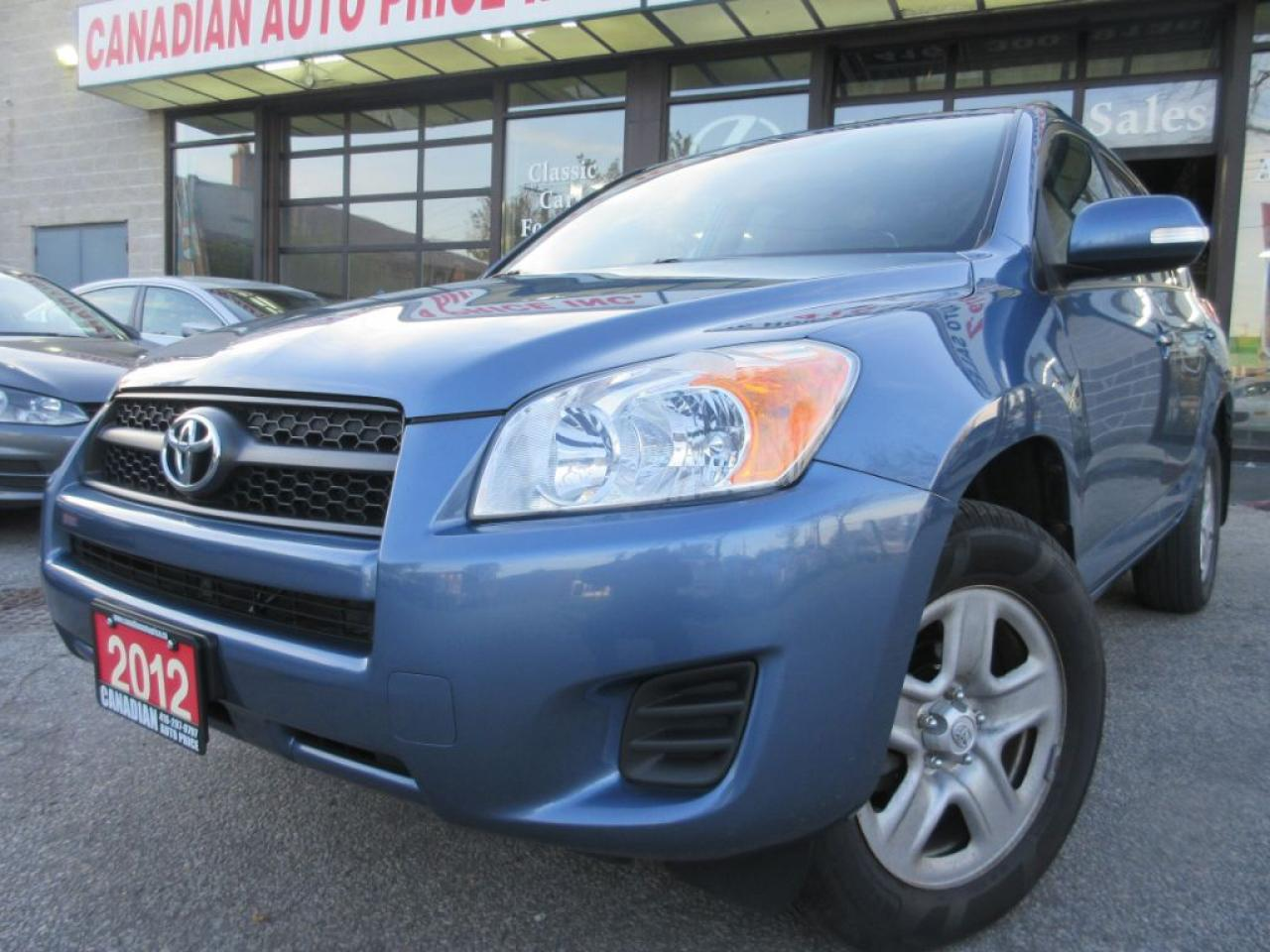 2012 Toyota RAV4 SPORT-UTILITY-POWER-SUNROOF-BLETOOTH
