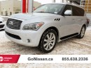 Used 2014 Infiniti QX80 technology package, leather, 8 Passenger!! for sale in Edmonton, AB
