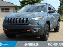 Used 2015 Jeep Cherokee Trailhawk V6 LEATHER SUNROOF NAVI for sale in Edmonton, AB