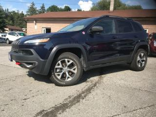 Used 2016 Jeep Cherokee Trailhawk for sale in Bradford, ON
