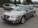 Used 2002 Nissan Maxima SE Auto Leather for sale in Owen Sound, ON