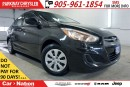 Used 2016 Hyundai Accent PRE-CONSTRUCTION SALE| GL| HEATED SEATS & MORE| for sale in Mississauga, ON