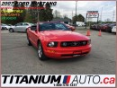 Used 2007 Ford Mustang Convertible+Heated Leather Power Seats+Shaker 500+ for sale in London, ON