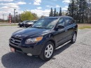 Used 2007 Hyundai Santa Fe GLS LEATHER SUNROOF AWD NAVIGATION LOADED for sale in Gormley, ON