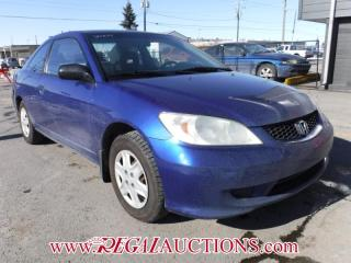 Used 2004 Honda CIVIC SE 2D COUPE for sale in Calgary, AB