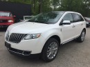 Used 2013 Lincoln MKX LUXURY * AWD * NAV * LEATHER * REAR CAM * PAN SUNROOF * BLUETOOTH for sale in London, ON