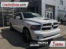 Used 2015 Dodge Ram 1500 Sport| Leather| Low KM| Keyless Entry| Sunroof for sale in Edmonton, AB