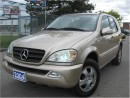 Used 2004 Mercedes-Benz ML-Class 3.7L classic for sale in North York, ON