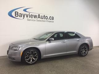 Used 2016 Chrysler 300 S- PANOROOF! LEATHER! NAV! REV CAM! BEATS! for sale in Belleville, ON