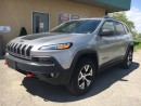 Used 2016 Jeep Cherokee $197.21 BI WEEKLY! $0 DOWN! CERTIFIED! for sale in Bolton, ON