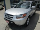 Used 2009 Hyundai Santa Fe LOADED LIMITED EDITION 5 PASSENGER 3.3L - V6.. AWD.. LEATHER.. HEATED SEATS.. POWER SUNROOF.. CD/AUX/USB INPUT.. for sale in Bradford, ON
