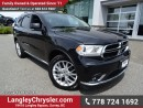 Used 2016 Dodge Durango Limited W/ REAR DVD PLAYER, 8.4