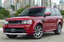 Used 2013 Land Rover Range Rover Sport V8 SC Red Limited Edition for sale in Vancouver, BC