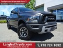 Used 2016 Dodge Ram 1500 Rebel ACCIDENT FREE w/ 4X4, NAVIGATION & AIR SUSPENSION for sale in Surrey, BC