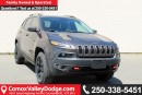 New 2017 Jeep Cherokee Trailhawk BLUETOOTH, HEATED SEATS, NAV, KEYLESS ENTRY, BACK UP CAMERA,TRAILER TOW for sale in Courtenay, BC