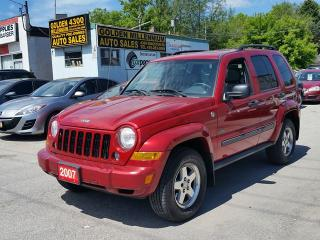 Used 2007 Jeep Liberty Sport-Low km for sale in Scarborough, ON