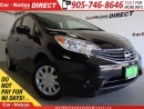 Used 2016 Nissan Versa Note 1.6 SV| BACK UP CAMERA| ONE PRICE INTEGRITY| for sale in Burlington, ON