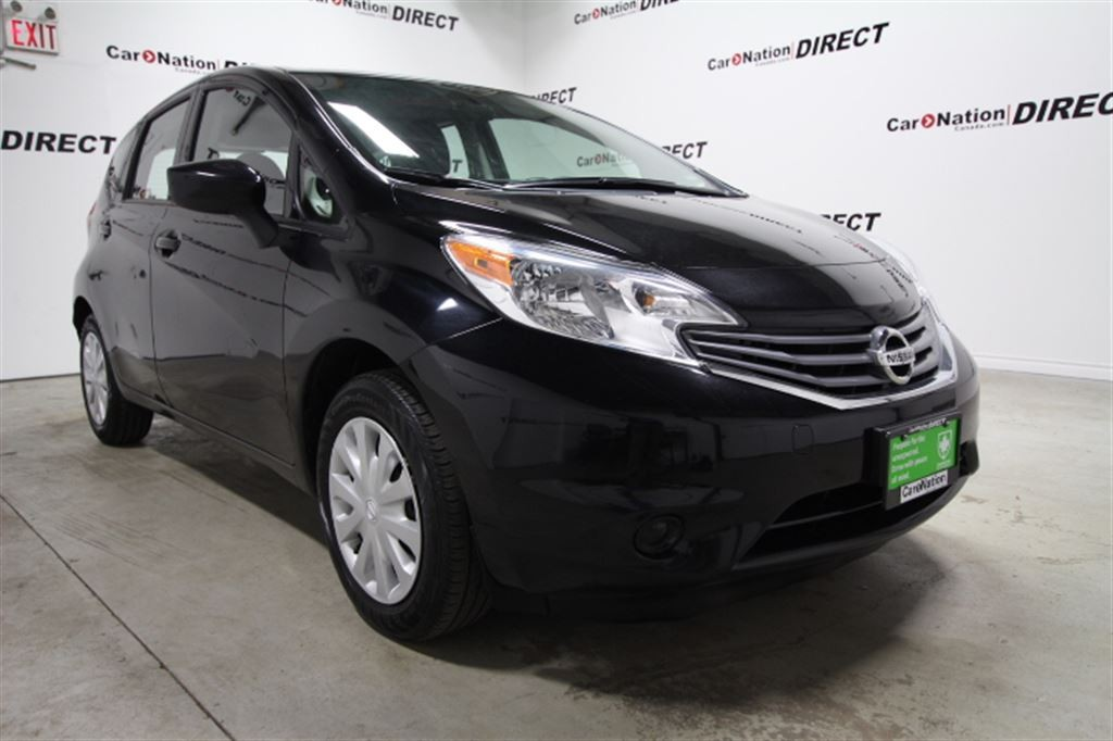 used 2016 nissan versa note 1 6 sv back up camera one price integrity for sale in burlington. Black Bedroom Furniture Sets. Home Design Ideas