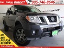 Used 2013 Nissan Frontier SV| ONE PRICE INTEGRITY| OPEN SUNDAYS| for sale in Burlington, ON