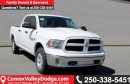 New 2017 Dodge Ram 1500 SLT HEATED SEATS/STEERING, BLUETOOTH, BACK UP CAMERA, TRAILER BRAKE CONTROL, PARK ASSIST for sale in Courtenay, BC