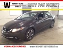 Used 2013 Honda Civic SUNROOF| BACKUP CAM| HEATED SEATS| 83,916 KMS for sale in Kitchener, ON
