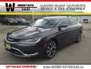 Used 2016 Chrysler 200 200C| NAVIGATION| LEATHER||26,311KMS| for sale in Kitchener, ON
