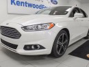 Used 2015 Ford Fusion SE AWD Ecoboost with NAV and leather seats for sale in Edmonton, AB