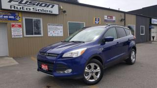 Used 2015 Ford Escape SE-LEATHER-BACK UP CAMERA-ECOBOOST-SYNC for sale in Tilbury, ON