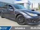 Used 2012 Subaru WRX STI PERFORMANCE EXHAUST HALF LEATHER HEATED SEATS for sale in Edmonton, AB