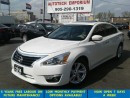 Used 2014 Nissan Altima SL Tech Prl White Navigation/Blindspot/loaded for sale in Mississauga, ON