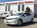 Used 2012 Honda Civic LX | 1.99% Financing - New Tires for sale in Mississauga, ON