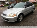 Used 1998 Honda Civic EX-G | YOU CERTIFY, YOU SAVE for sale in Kitchener, ON