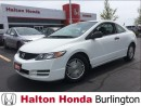 Used 2010 Honda Civic DX-G ALLOY WHEELS 5 SPD for sale in Burlington, ON