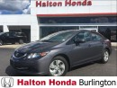 Used 2014 Honda Civic Sedan LX BLUE TOOTH HEATED SEATS for sale in Burlington, ON