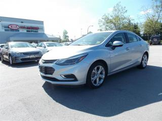 Used 2017 Chevrolet Cruze Premier Auto for sale in West Kelowna, BC